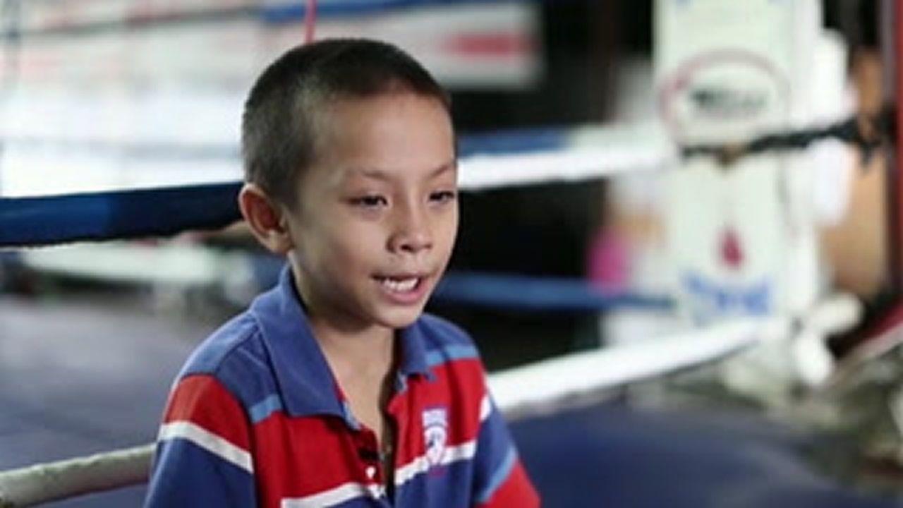 Tata, el boxeador tailandés que con 9 años mantiene a toda su familia.Ricardo Rodríguez