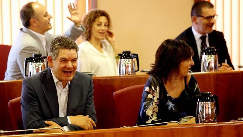 El PSOE charla y trata de afear la intervención del BNG en Vigo