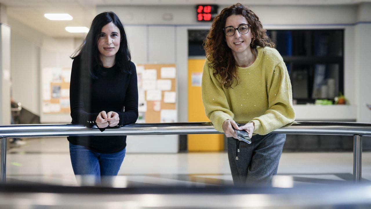 Sandra Rivas y Beatriz Gullón, investigadoras que lideraron un trabajo sobre el aprovechamiento de los restos de podas
