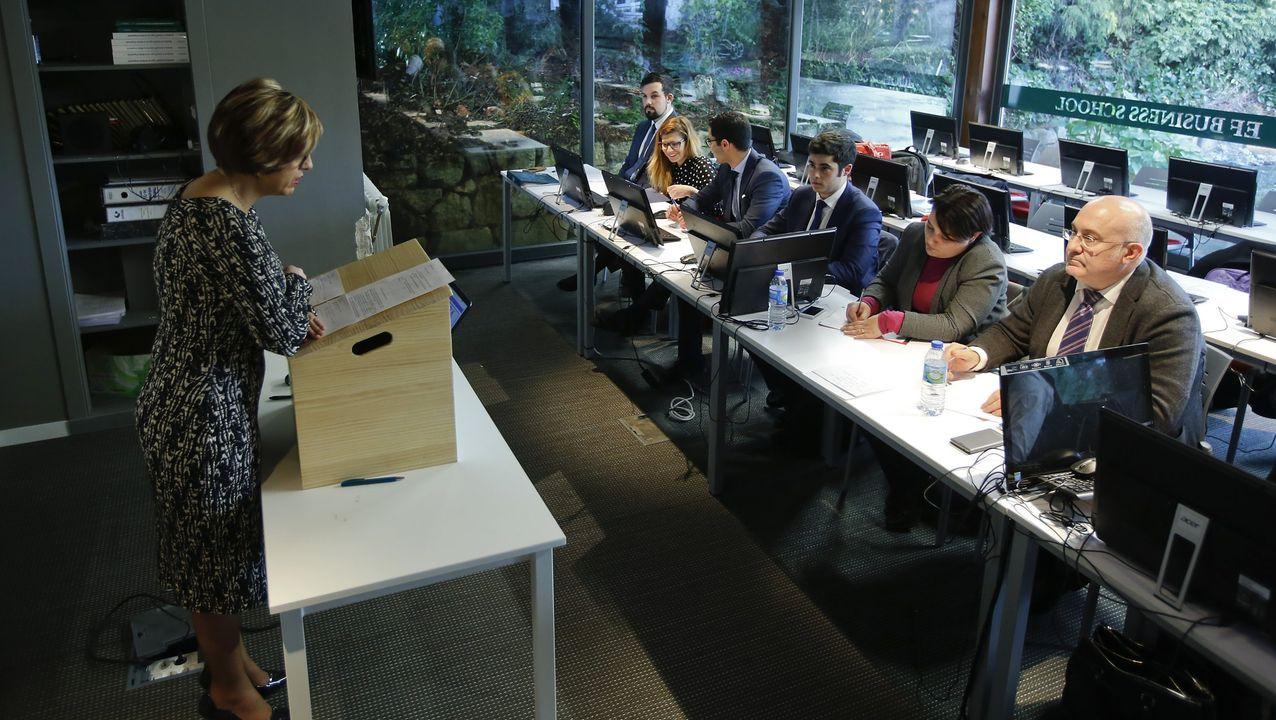 Imagen de archivo de la Escuela de Finanzas Business School de Oleiros