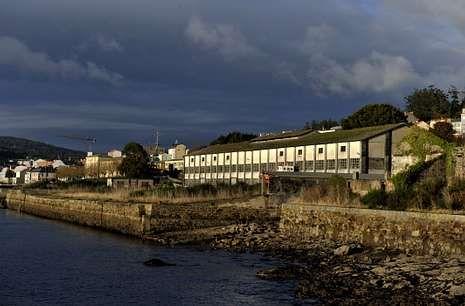 Zona de los antiguos astilleros Sicar, en Brens, donde se pretendía instalar la fábrica de tubos.