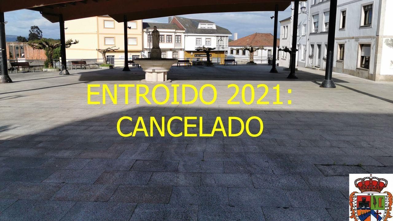 Anuncio de Palas sobre la cancelación del Entroido 2021