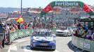 La Vuelta a España volverá hoy a atravesar el Ponte da Barca de Pontevedra