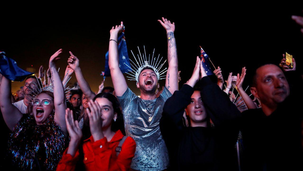 Netta Barzilai, de Israel.Público durante la gran final del festival de Eurovisión