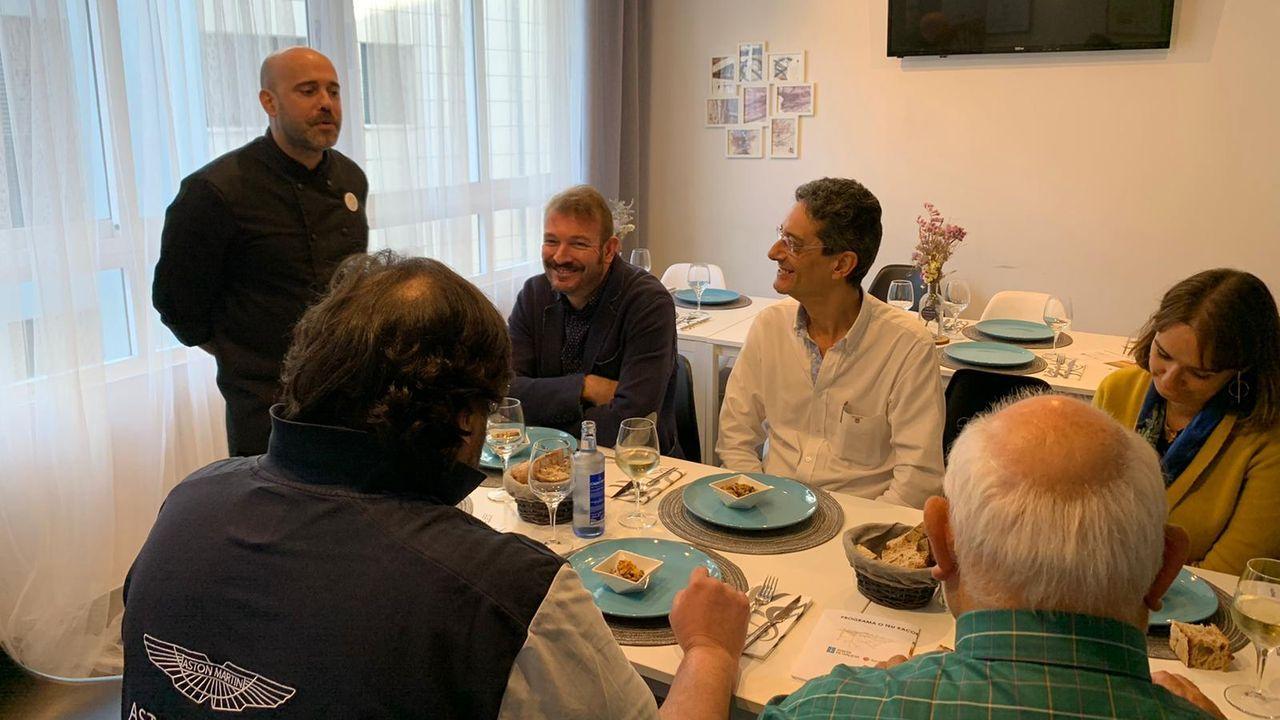 Imagen de archivo de un encuentro para presentar los restaurantes de la reserva