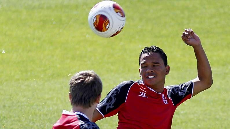 Rodrigo habla antes del Sevilla-Benfica