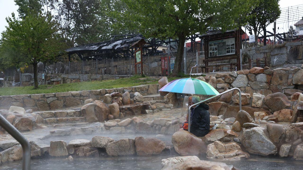 Un paseo por la ruta termal del Miño.Álvaro Varela, el arquitecto que diseñó el complejo