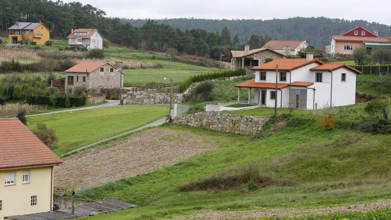 Los turistas llenan Covadonga.Leiceaga, durante un pleno en el Parlamento de Galicia