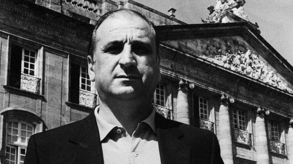 David Sánchez Carro, en su etapa de concejal de Santiago, a finales de los años 80 y principios de los 90