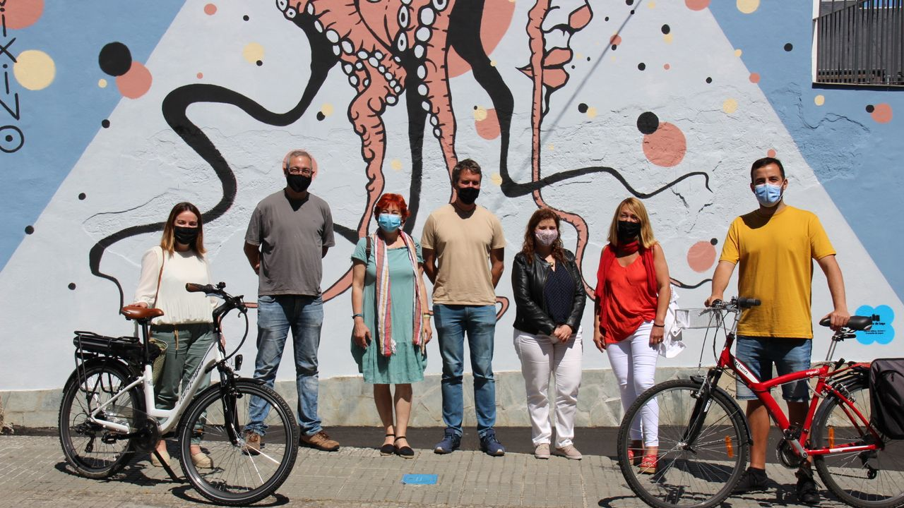 Las visitas turísticas por Lugo incluyen este año paseo a pie y en bici hasta murales artísticos