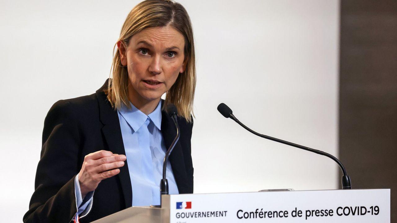 La secretaria de Estado de Industria de Francia, Agnès Pannier-Runacher