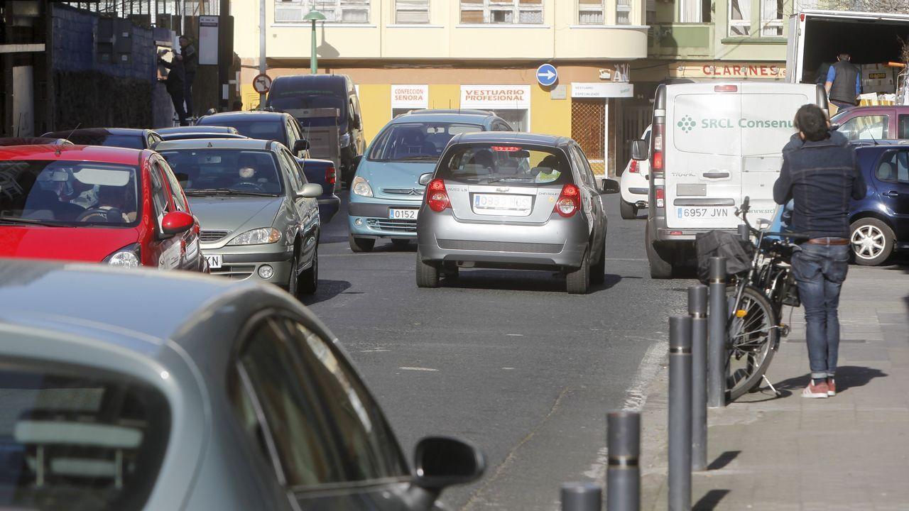 Ferrol se echa a la calle para conmemorar el 8M