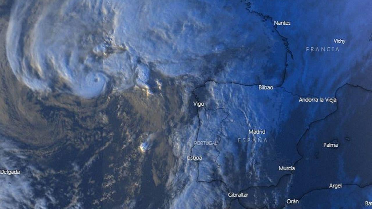 En el 2019, el ciclón Pablo se intensificó y se transformó en huracán frente al litoral gallego