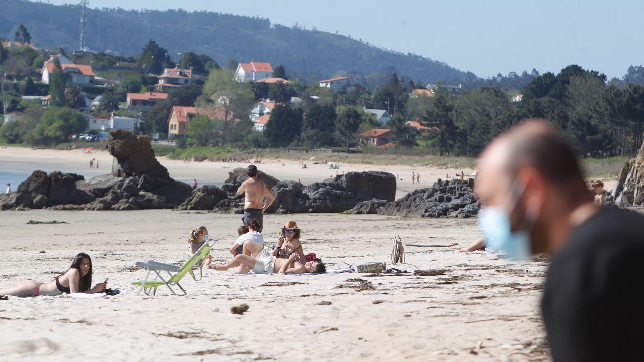 Playa de O Raso este domingo