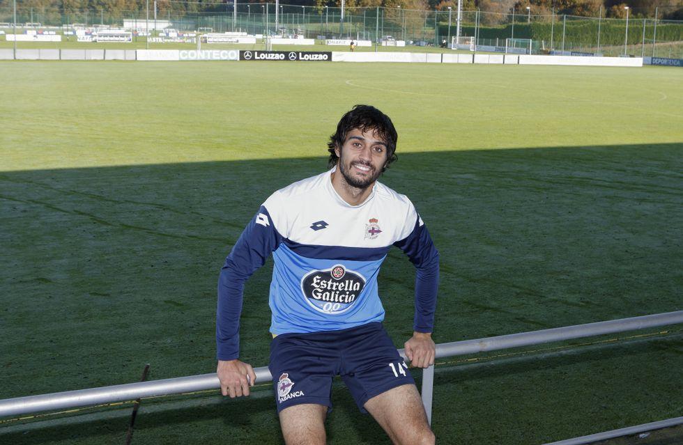 Gol Yeboah Numancia Real Oviedo Los Pajaritos.Alejandro Arribas está sorprendido del buen tiempo que ha reinado en A Coruña desde su llegada.