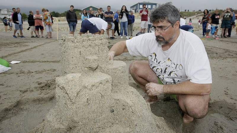 Concurso de Castillos de Arena en Barreiros
