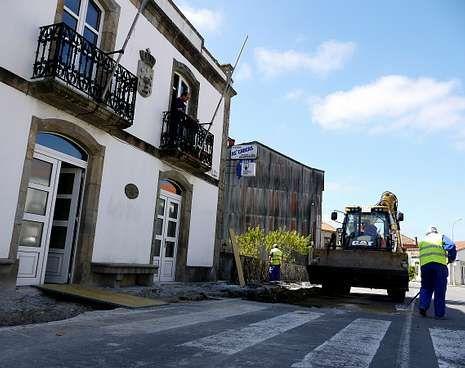 El Concello asegura que la obra se terminará en agosto.