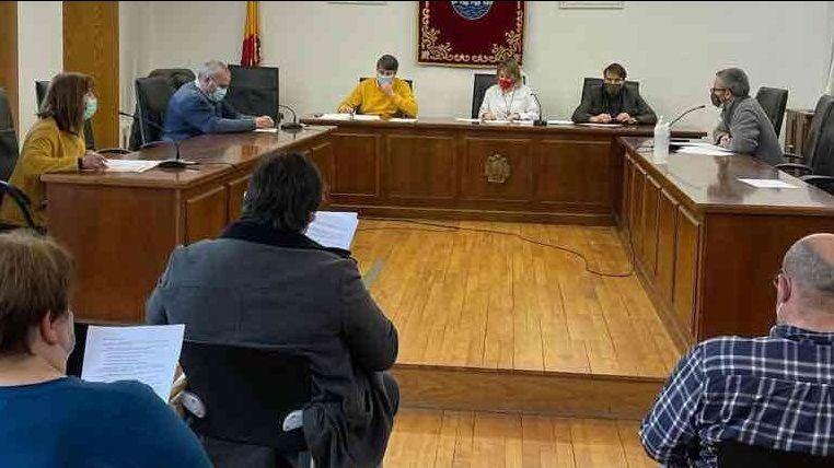 Noelia Rodríguez presidió su primer pleno como alcaldesa