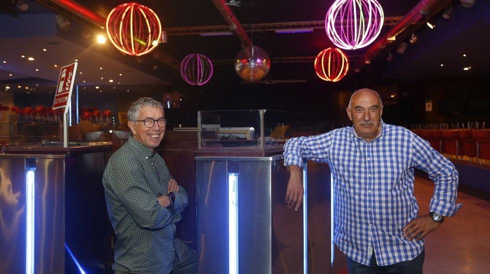 Warhol pasea sus latas por Vigo.Los dueños de la discoteca La Luna, de Pontevedra, que están pendientes de unas obras para reabrir la mítica sala de baile