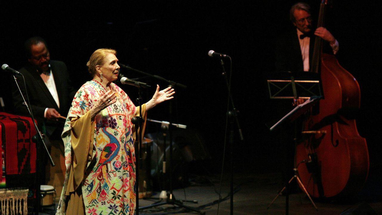 Maria Dolores Pradera en A Coruña en el 2005