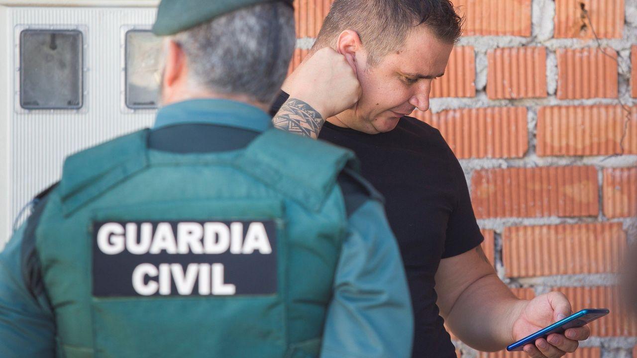 Florín Leonte, hermano de Dana Leonte, la joven de 31 años de nacionalidad rumana desaparecida el pasado 12 de junio en Arenas (Málaga)
