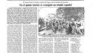 Página de La Voz sobre la salida de etapa de Lugo en 1985