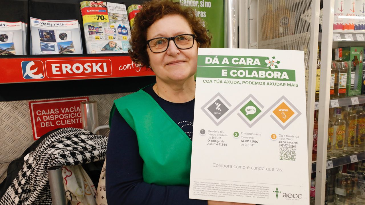 Accidente de tráfico en el corredor de Xove.Celina, voluntaria de la AECC en Burela, reivindica más servicios oncológicos para el Hospital Público da Mariña