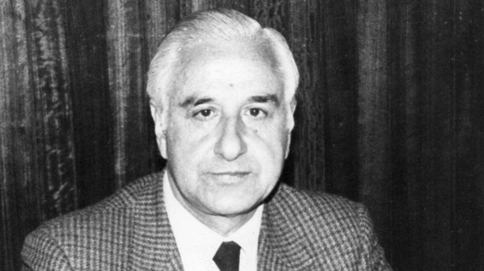 Carlos Ferreiro, en 1987, cuando aún estaba en activo como jefe provincial de Tráfico