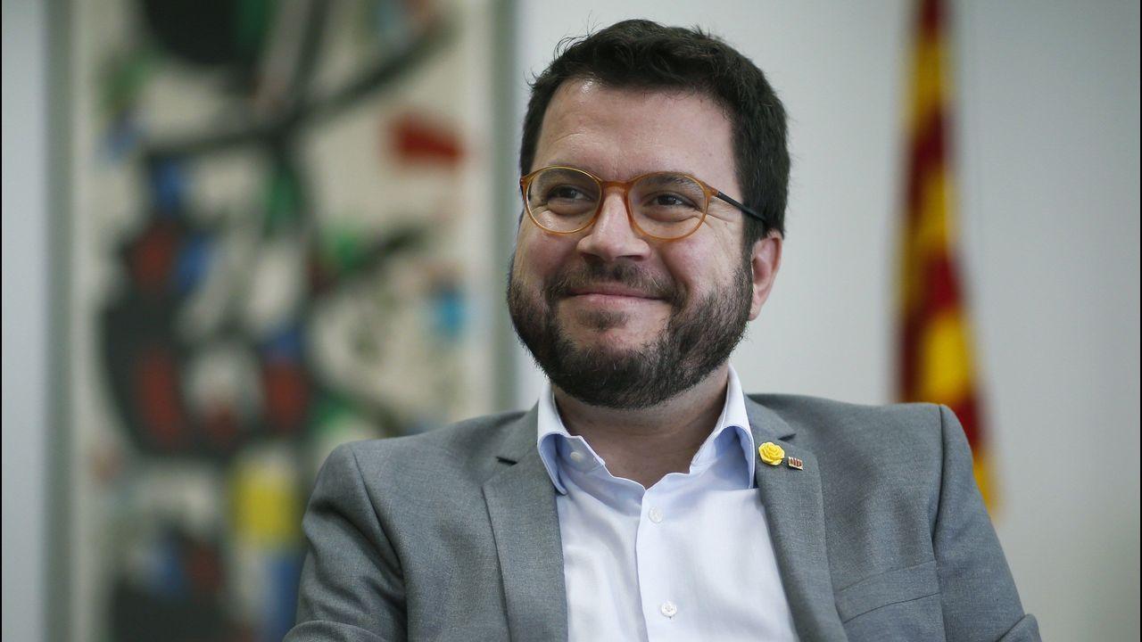 El consejero de Economía y Hacienda de la Generalital, Pere Aragonès