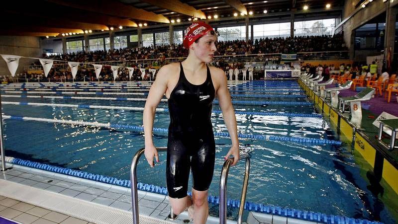 fot.La nadadora del Galaico aspira a mejorar las marcas con las que se ha clasificado para el Mundial.