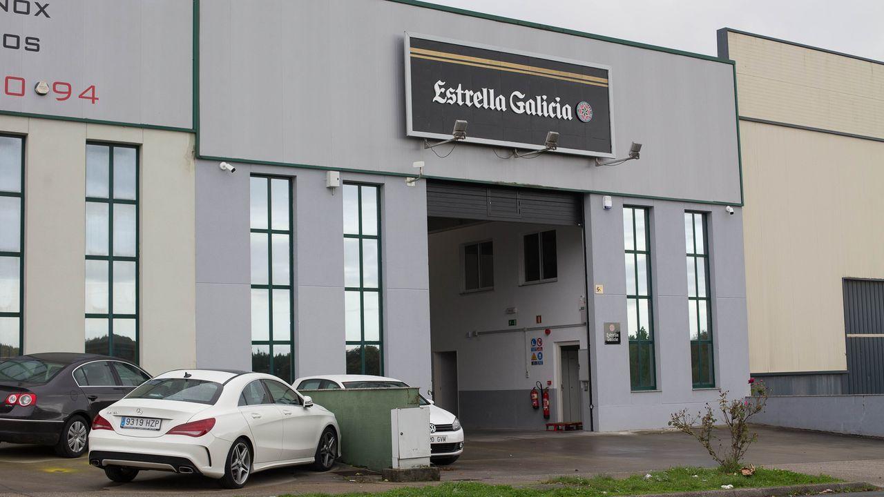 Estrella Galicia utiliza las instalaciones de O Ceao que fueron de Dislugo