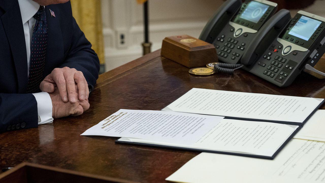 Trump firmó el jueves una orden ejecutiva destinada a evaluar si su Gobierno puede castigar a Twitter, Facebook, YouTube o Google si intentan moderar los contenidos publicados en sus plataformas