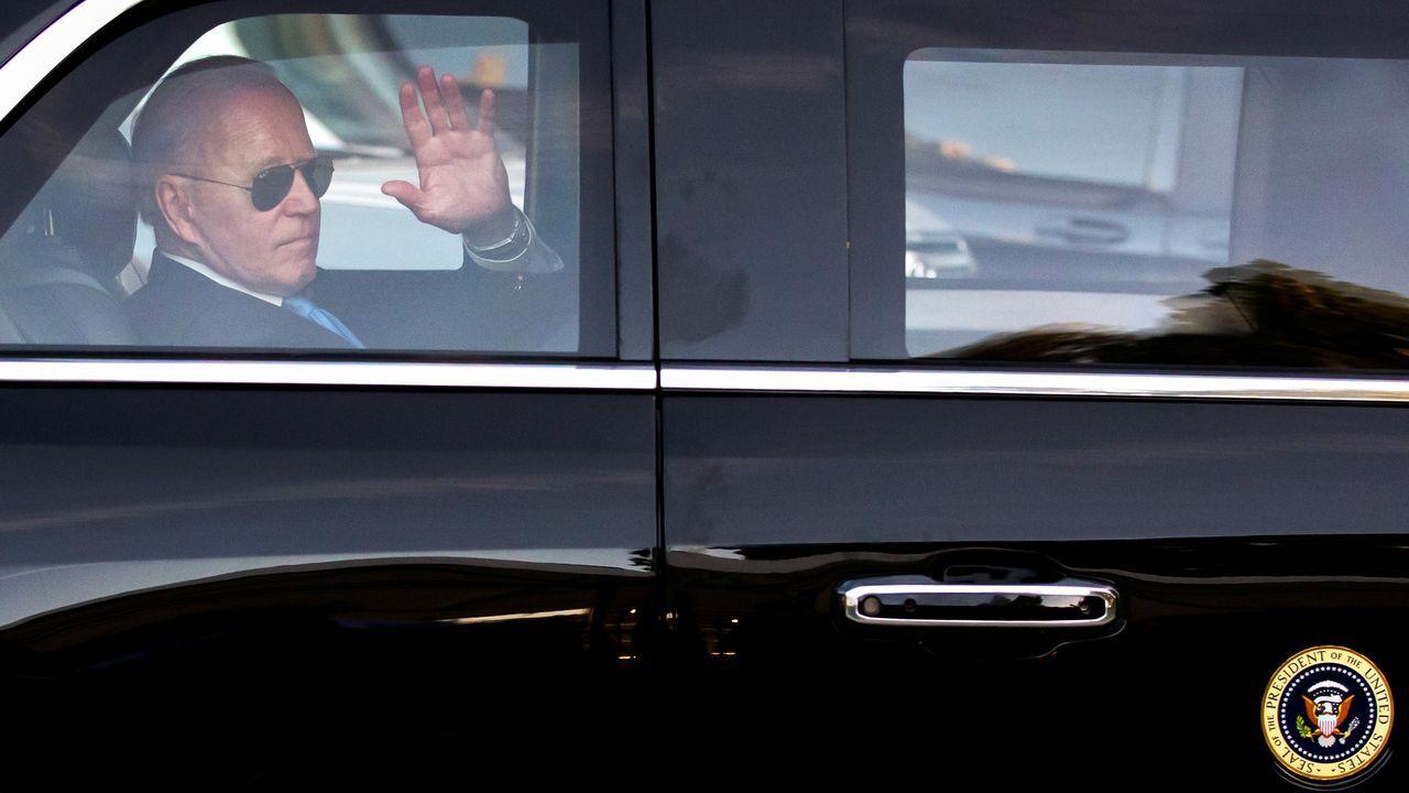 Biden, a su salida de la cumbre