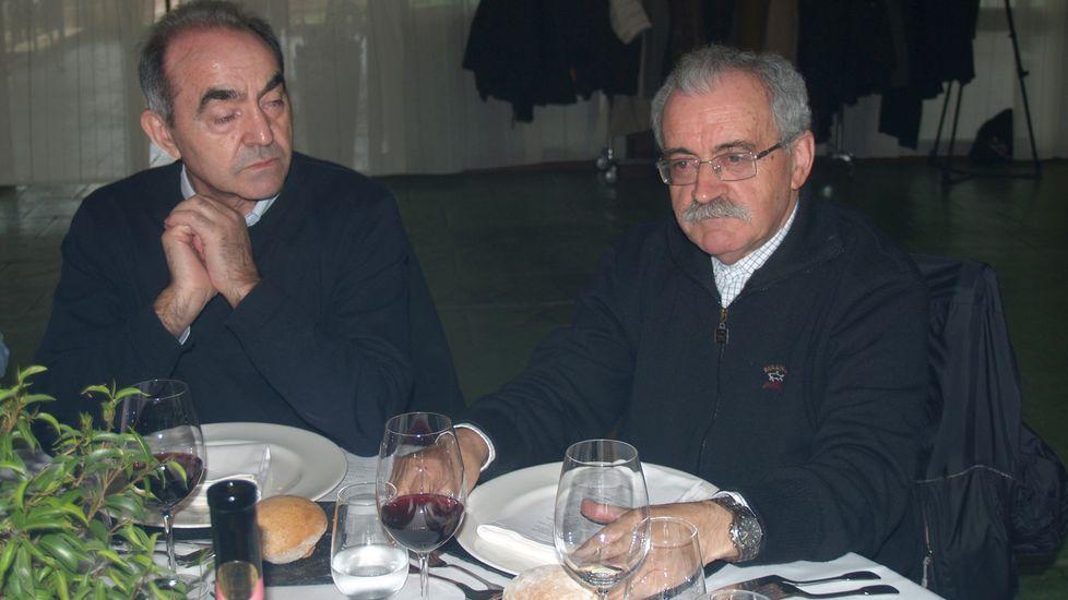 José Mouriño (derecha), uno de los principales impulsores de la actual denominación de origen
