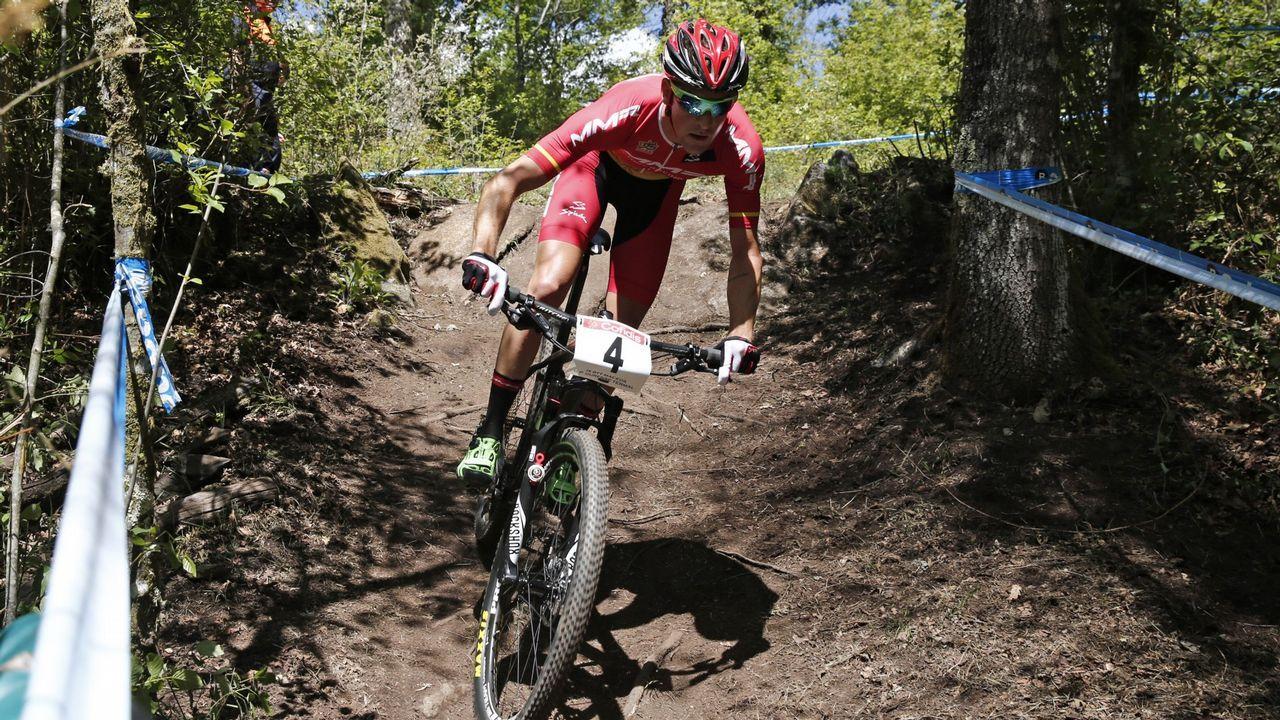 Pablo Rodríguez. 2018 no fue su mejor año, pero es una de las tres bazas más fiables del ciclismo de montaña español.
