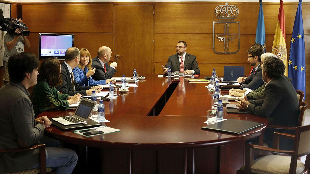 Obras en la variante de Pajares.Consejo de Gobierno del Principado de Asturias