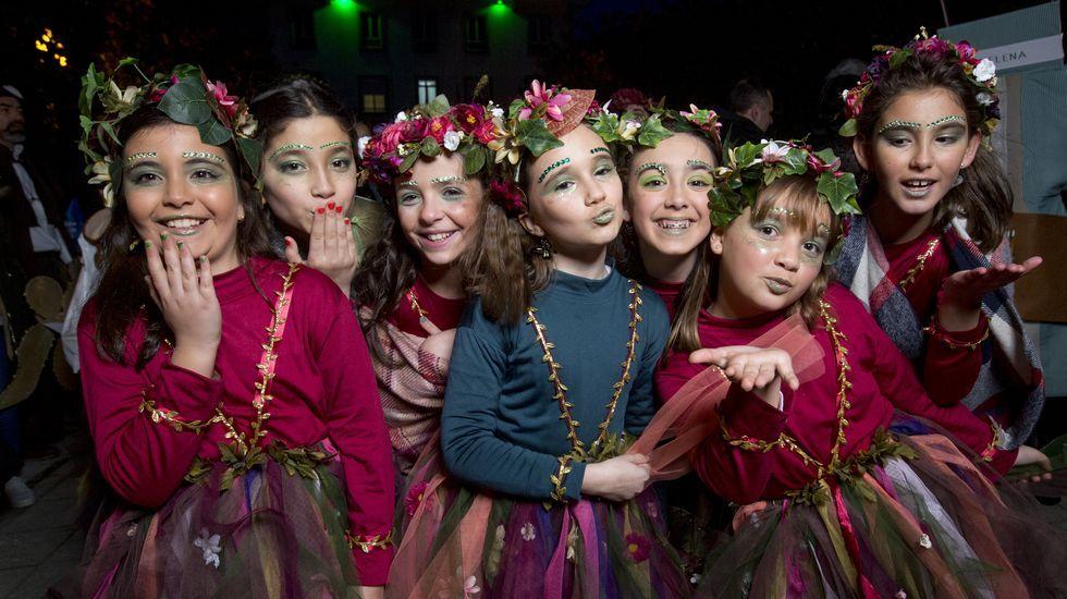 Camariñas, un carnaval lleno de fantasía, ingenio, naturaleza y muy dulce..Ramón Lema, patrón mayor