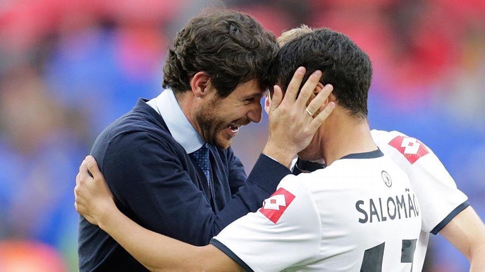 La alegría de Víctor Sánchez