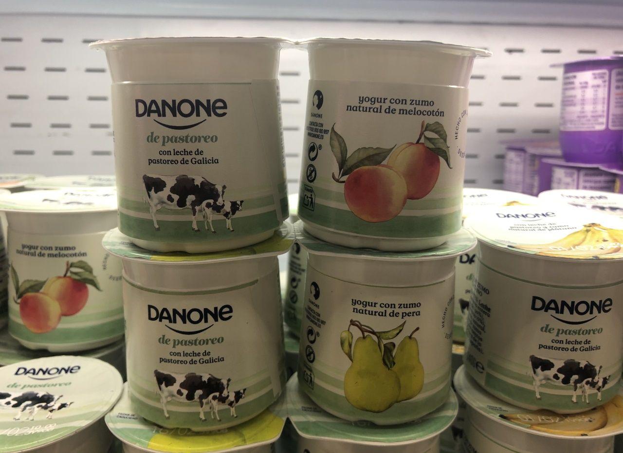El Mercado de Frutas de A Grela más solidario.Fábrica de Danone en Asturias