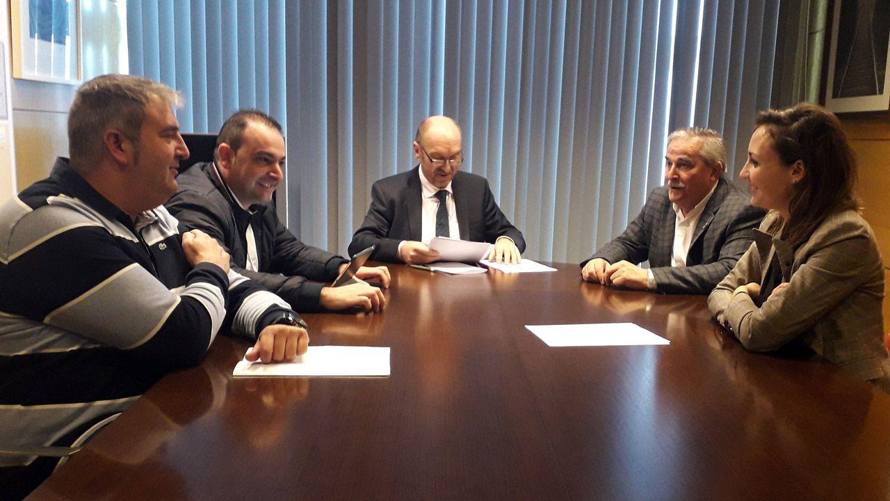 Reunión en Oviedo