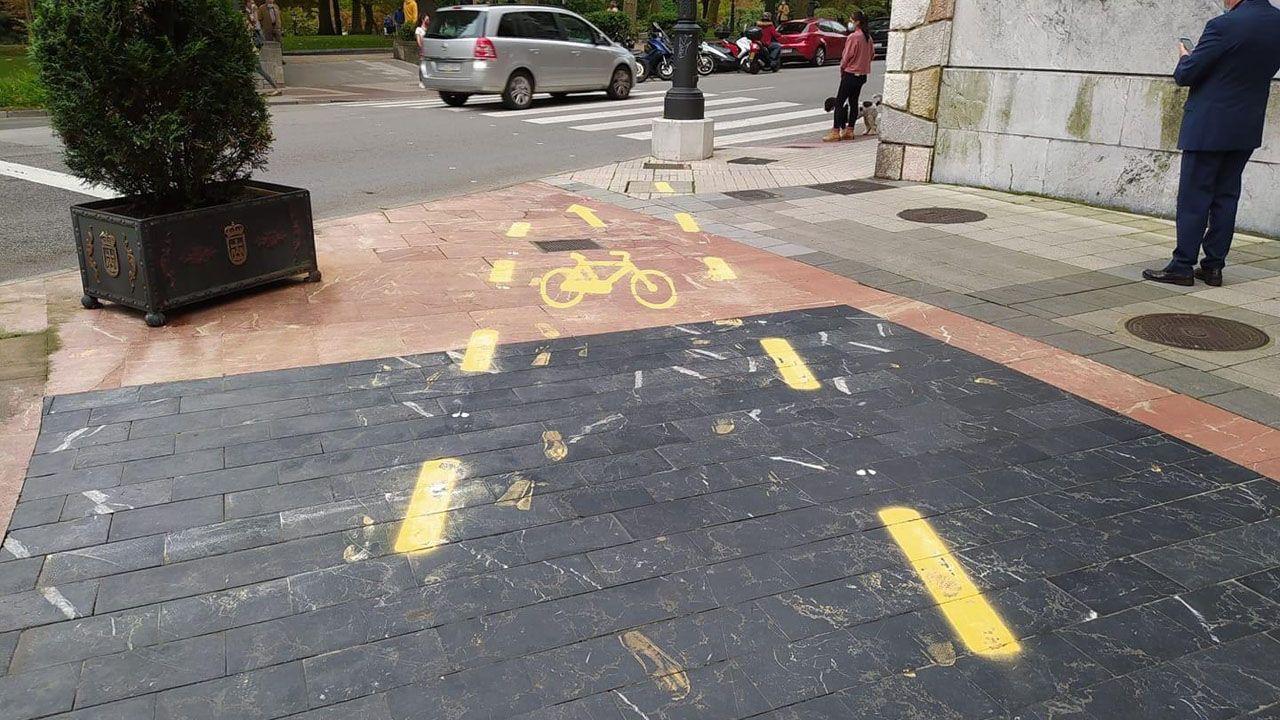 Carril bici de Oviedo