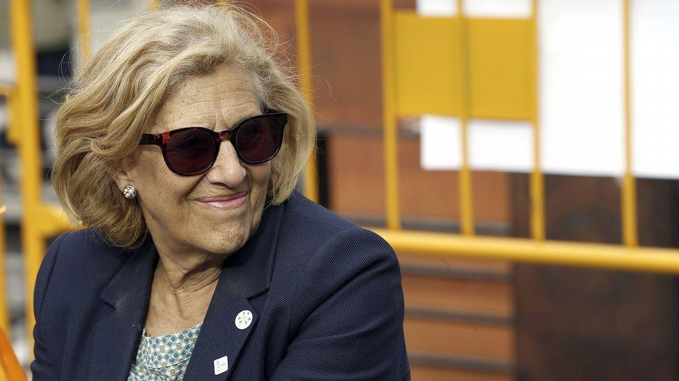 Manuela Carmena recrea su conversación con Esperanza Aguirre.Paolo Vasile, consejero delegado de Mediaset España