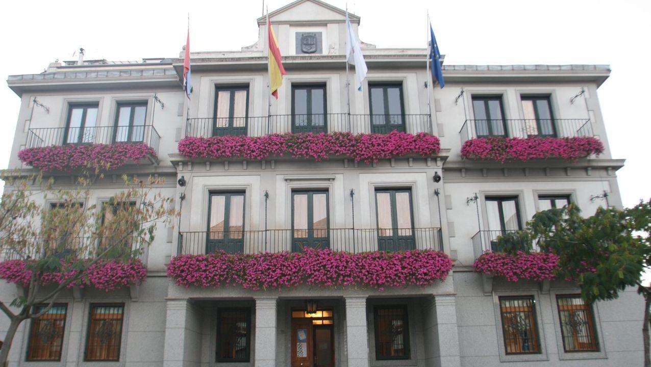 Imagen de la casa consistorial de O Barco