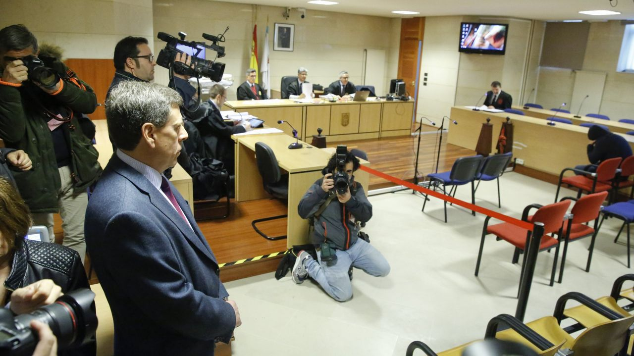 Las imágenes de As Revenidas.El juicio se celebrará en la misma sala en la que Abuín Gey fue juzgado por el rapto de una joven en Boiro