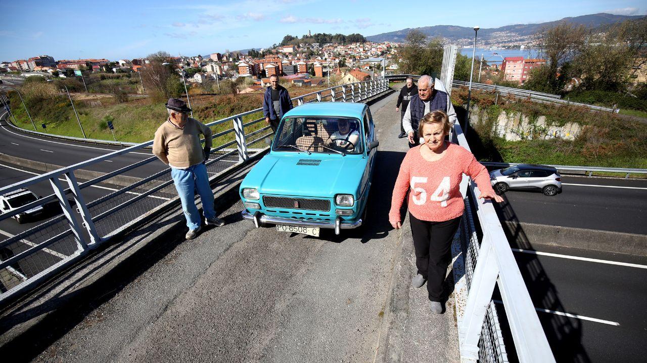 Graffiti en el puente de Rande