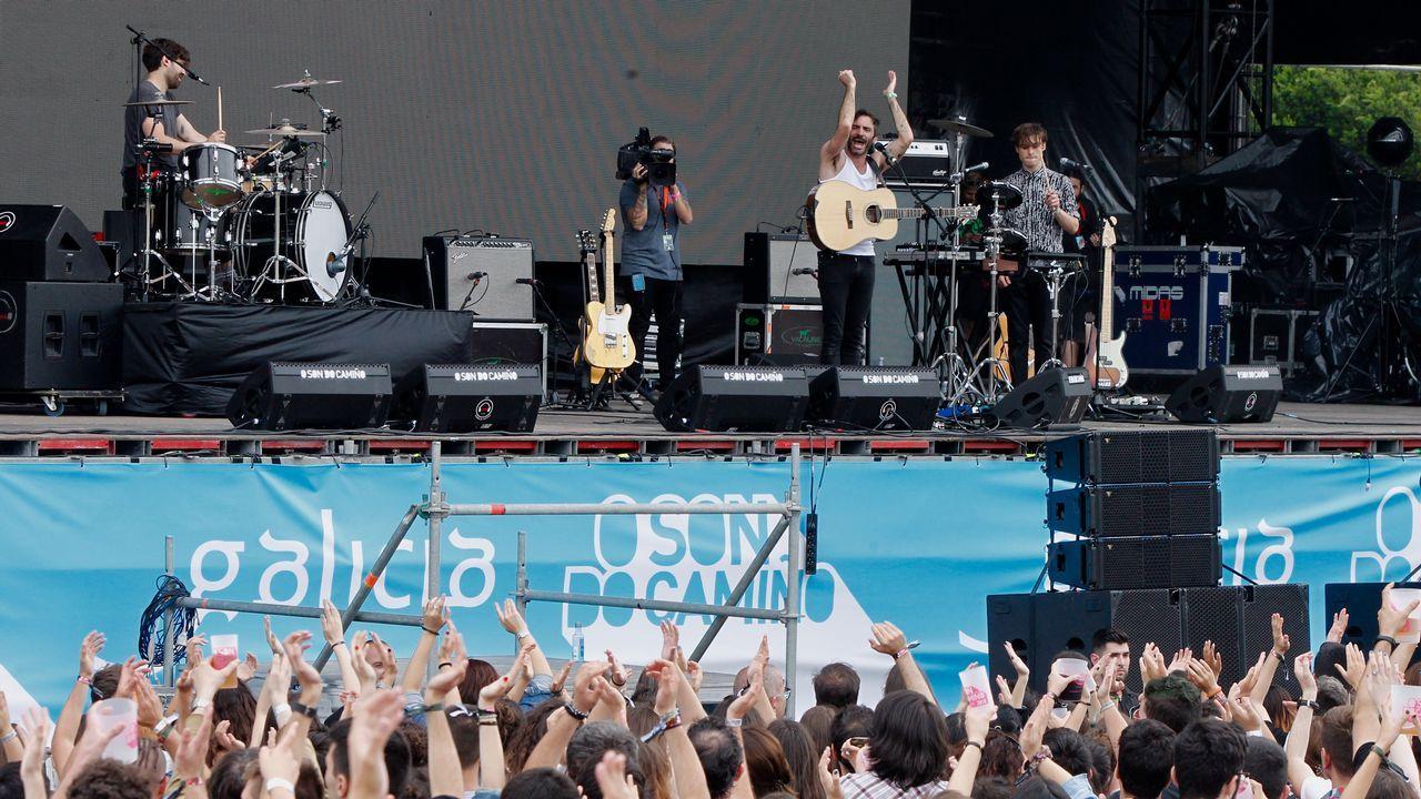 En la imagen, el francés Talisco con su folk rock