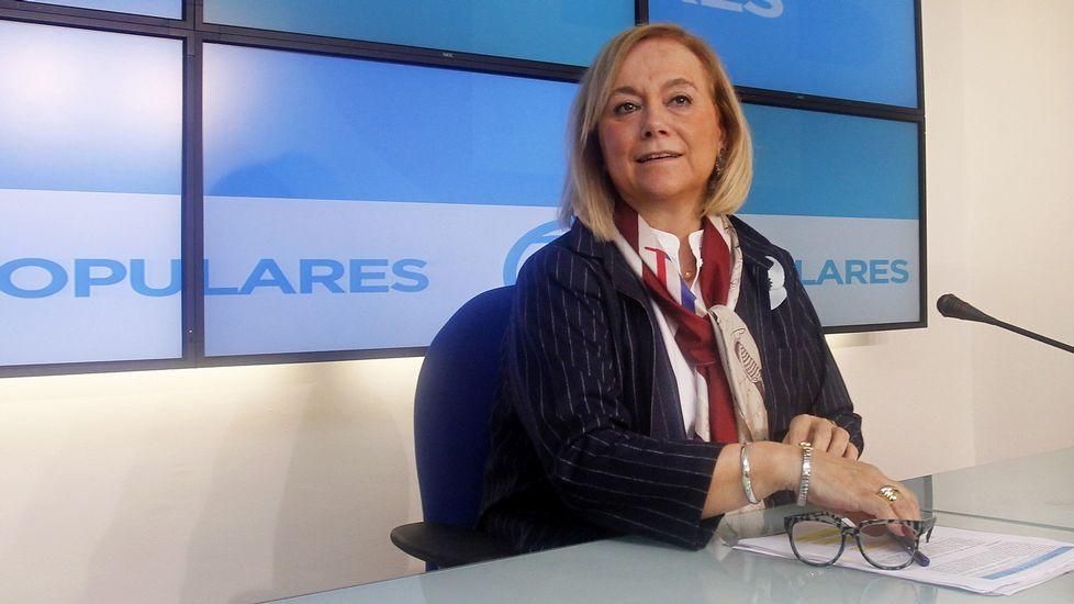 Susana Díaz, durante una entrevista en Canal Sur Radio.El pleno de la Junta General del Principado en su constitución.