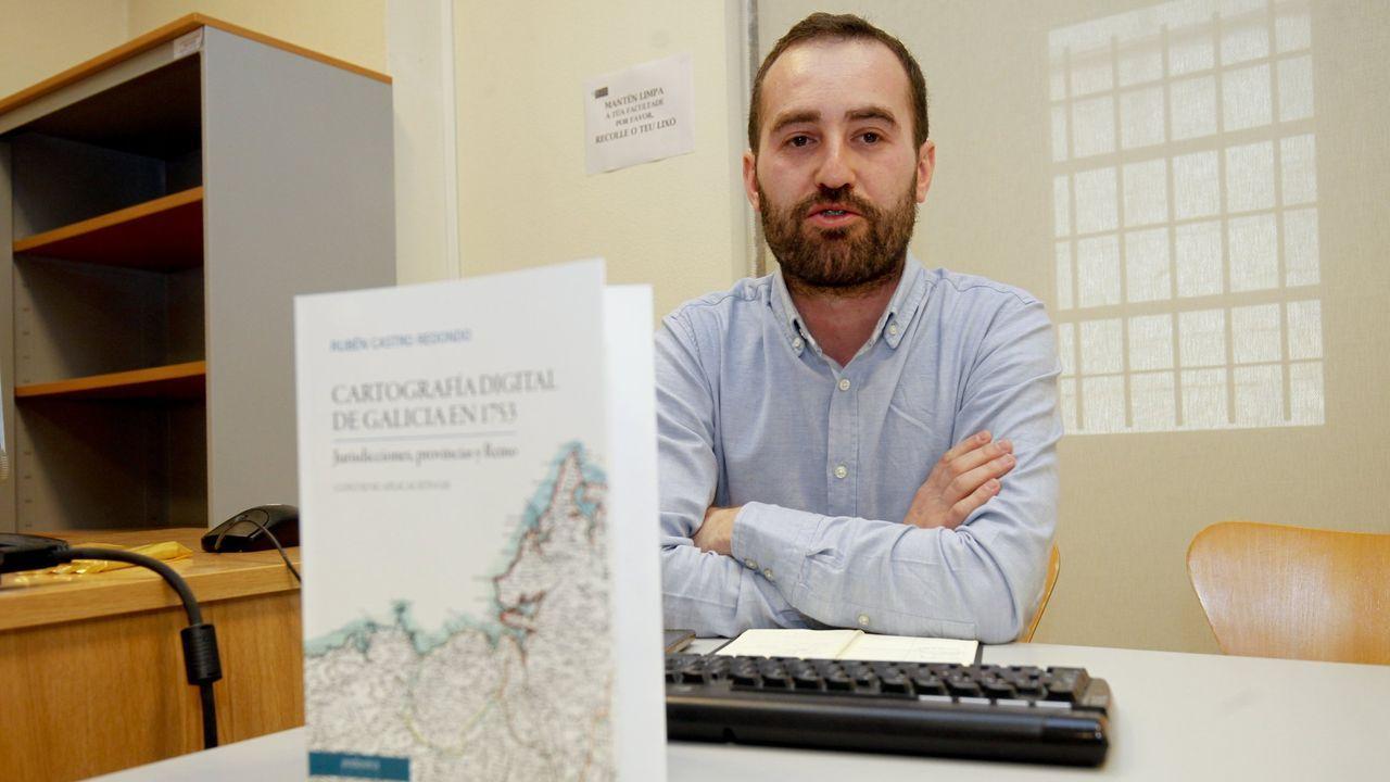 O investigador Rubén Castro Redondo