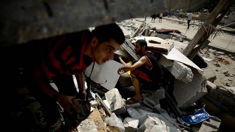 Gaza aprovecha la tregua para sanar sus heridas