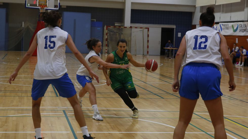 Las imágenes del baloncesto Arxil-Cortegada